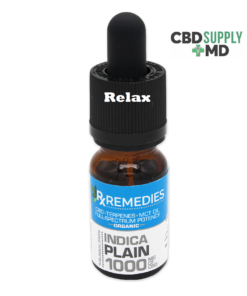 CBD Oil 1000mg Plain Jane Indica Extra Strength