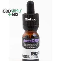 CBD Oil 500mg Indica is Relaxing NO THC
