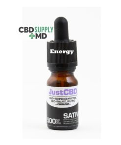 CBD Oil 500mg Sativa is Energizing NO THC