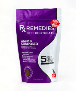 CBD Dog Treats Calm and Composed Beef Flavor