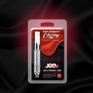 JGO Vape Cartridge - Cherry Pie Focus 700mg