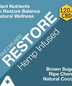 RESTORE - Hemp Oil Infused Coffee (120mg CBD per 12oz Bag)