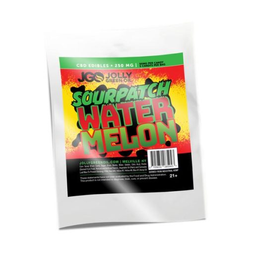 JGO Gummies - Sourpatch Watermelon 250mg