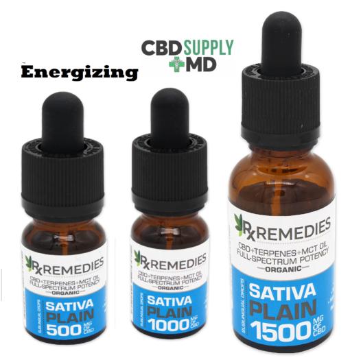 CBD Oil Drops Plain Jane Full Spectrum Sativa Available in 500mg 1000mg 1500mg