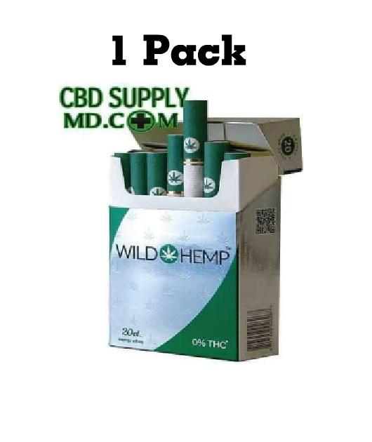 HempEttes CBD Cigarettes 1 Pack