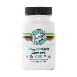 Floyds of Leadville CBD Isolate Softgel 50mg/30ct