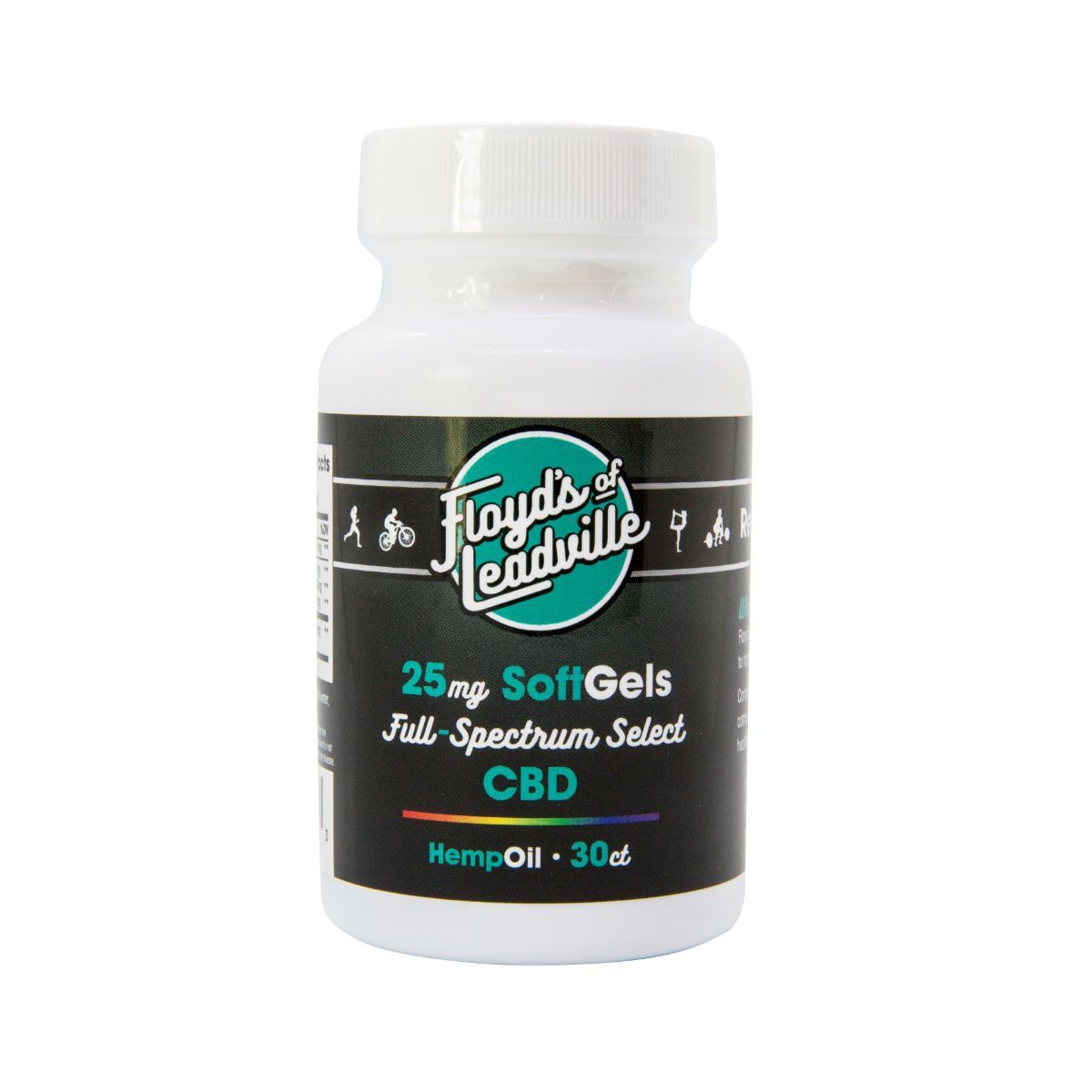 Floyd's of Leadville CBD Full Spectrum Softgel, 25mg/30ct