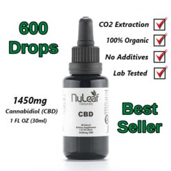 NuLeaf Full Spectrum CBD Oil 1,450mg