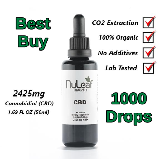 NuLeaf Full Spectrum CBD Oil 2,425mg