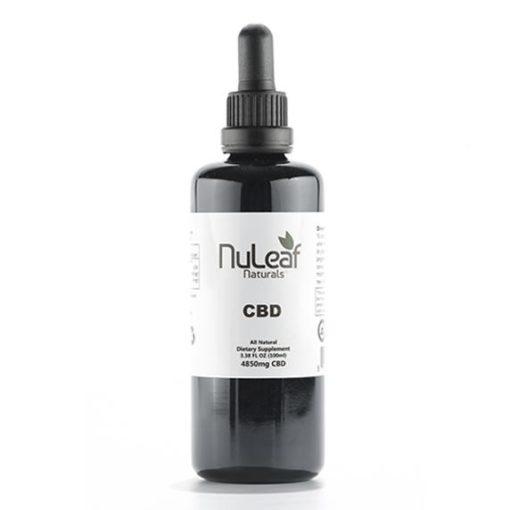 NuLeaf Full Spectrum CBD Oil 4,850mg