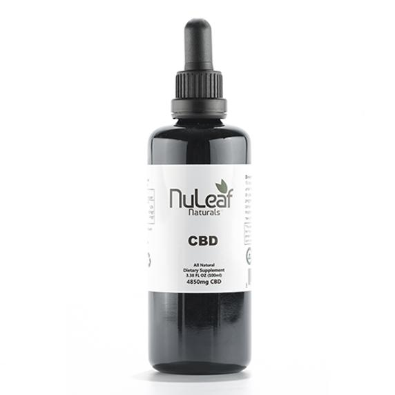 NuLeaf Full Spectrum CBD Oil 4,850mg