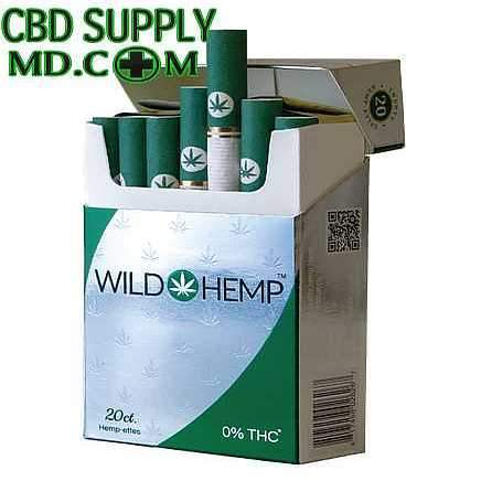 Hemp-Ettes CBD Cigarettes (2 Packs)