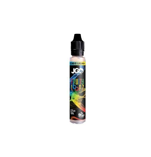 JGO CBD E-Liquid 625mg (Assorted Flavors)