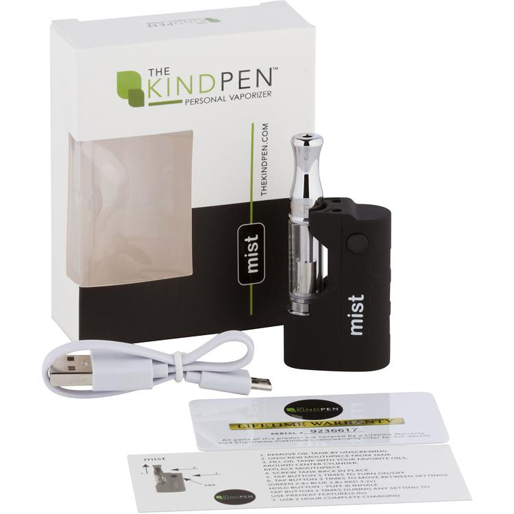 Kind Pen mist Vape Device - Black