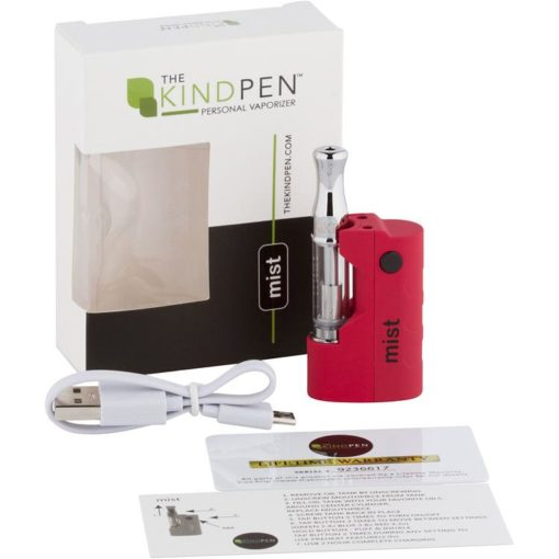 Kind Pen mist Vape Device - Red