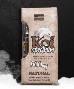 Koi Spectrum Vape Cartridge - Natural 500mg