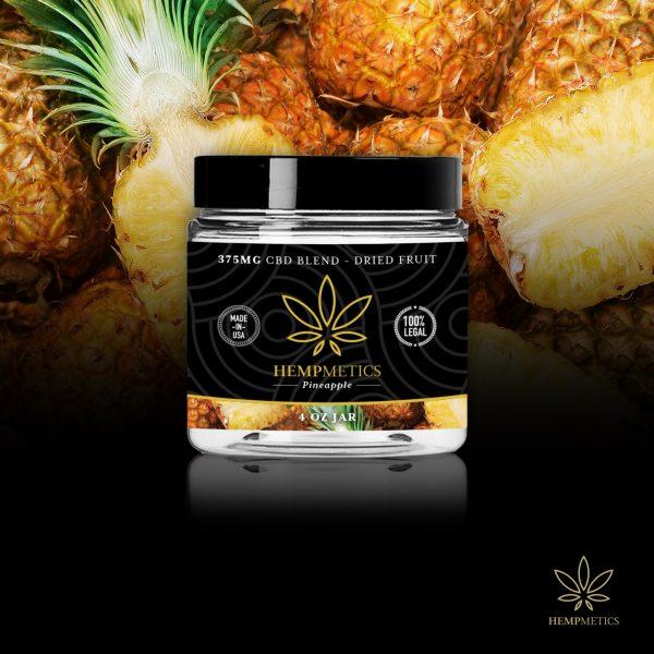 Hempmetics Dried Pineapples 375mg