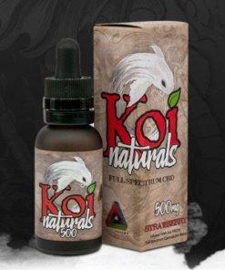 Koi Naturals Tincture - Strawberry 500mg-2,000mg
