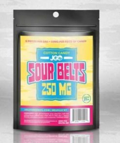JGO Cotton Candy Sour Belts 250 MG