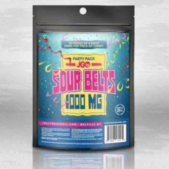 JGO Sour Belts Party Pack 1,000 MG