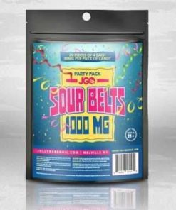 JGO Sour Belts Party Pack 1,000 MG