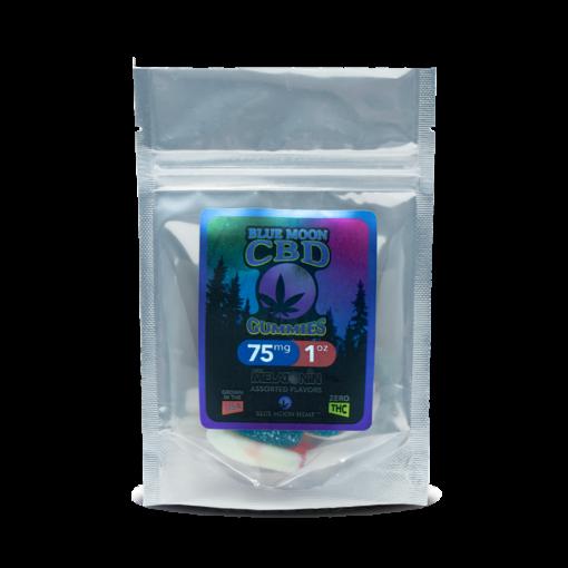 Blue Moon Hemp CBD Gummies w/Melatonin – 75mg/1oz