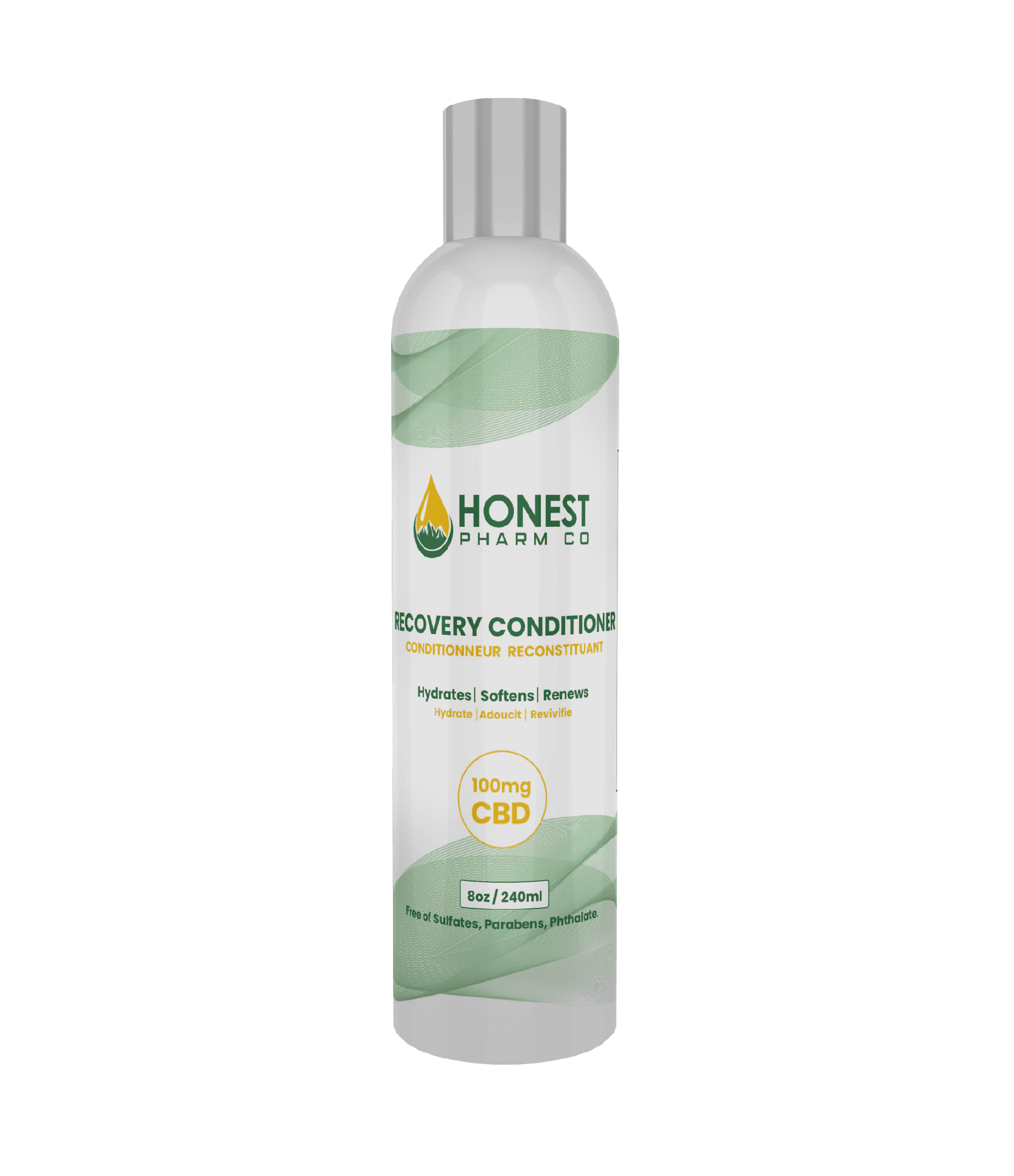 Honest Pharm Co. CBD Recovery Conditioner 8 oz. (100mg)