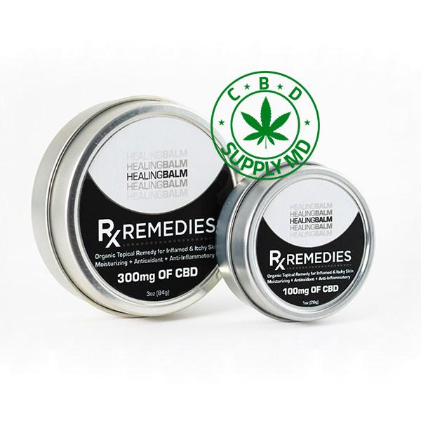 Rx Remedies Healing Balm 100mg or 300mg