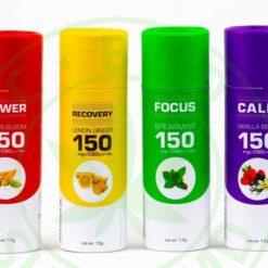 CBD Vape Oil Combo Pack - Get 1 of each Blend (4 Total)