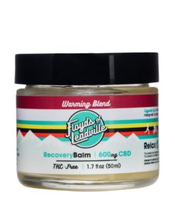 600mg Warming Balm: Isolate