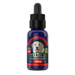 CBD Dog Tincture 1000mg Bacon Flavor