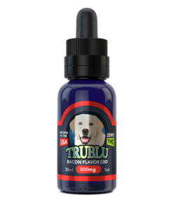 CBD Dog Tincture 500mg Bacon Flavor