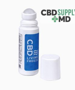 CBD Living Freeze Topical Pain Cold Therapy 3 fl oz Roll-On