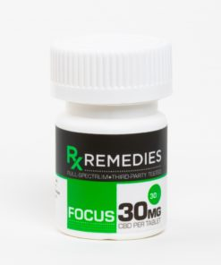 CBD Tablets Full Spectrum Focus 30mg Each