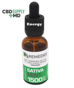 1500mg CBD Oil Full Spectrum Energizing