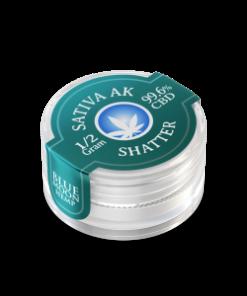 Sativa AK47 CBD Shatter 0.5 Gram