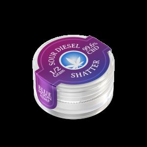 Sour Diesel CBD Shatter 0.5 Gram