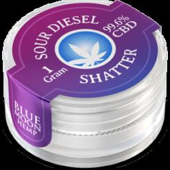 Sour Diesel CBD Shatter 1 GRAM