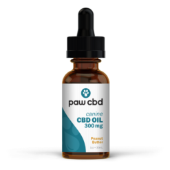 CBD Oil Dogs 300mg - Peanut Butter