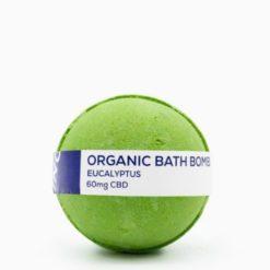 CBD Living Bath Bomb 60mg Eucalyptus