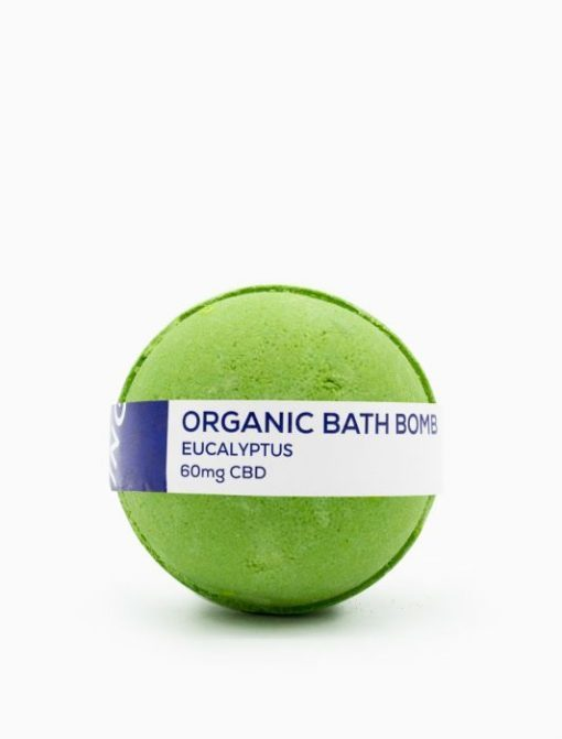 CBD Living Bath Bomb 60mg Eucalyptus