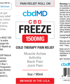 CBD Pain Relief Roll On 1500mg