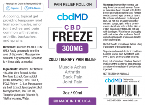 CBD Pain Relief Roll On 300mg