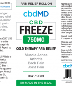 CBD Pain Relief Roll On 750mg