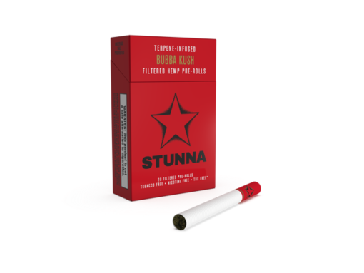 Stunna Hemp cigarettes – Bubba Kush (20 per pack)