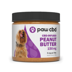 CBD Peanut Butter Jar 16oz With Spoon 150mg