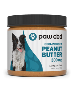 CBD Peanut Butter Jar 16oz With Spoon 300mg
