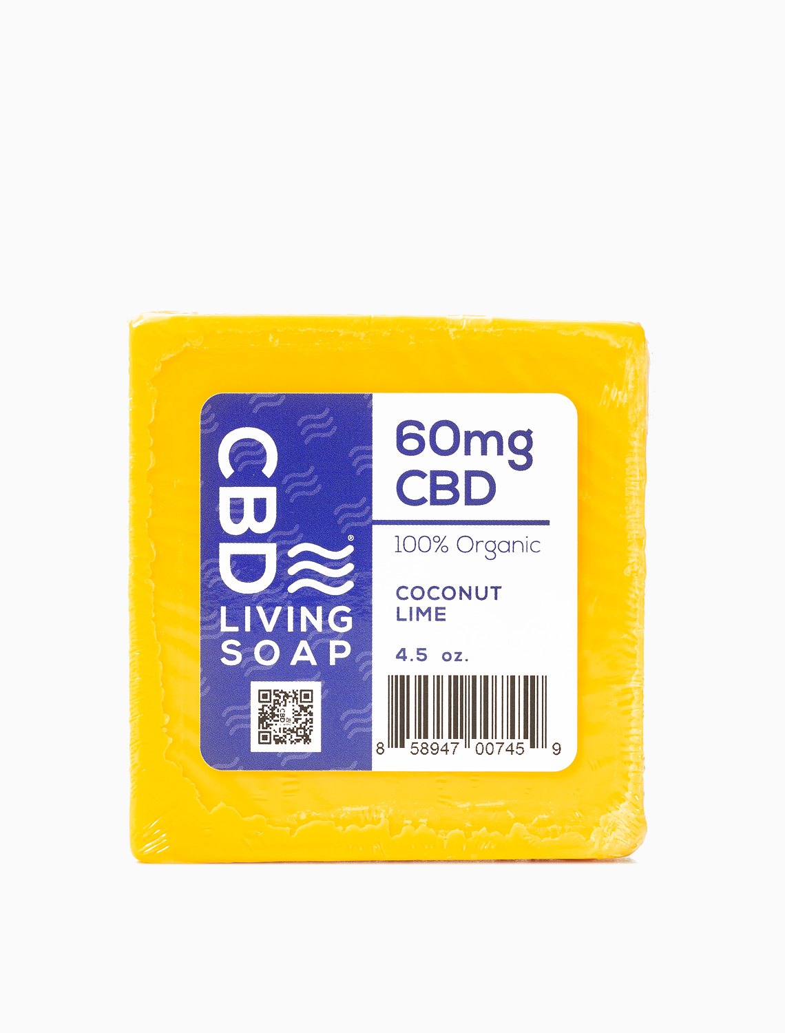 CBD Soap 60mg Coconut Lime