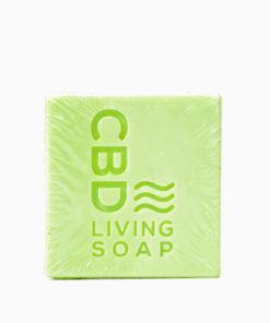 CBD Living Soap 100mg Coconut Lime