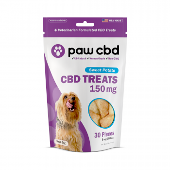 CBD Dog Treats 150mg - Sweet Potato